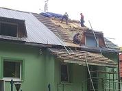wymiana deskowania dachu