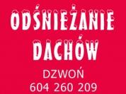 ODŚNIEŻANIE DACHÓW / Warszawa Ursynów, Raszyn, Piaseczno Odśnieżanie dachów
