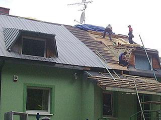 Krycie dachu blachą trapezowąinstrukcja